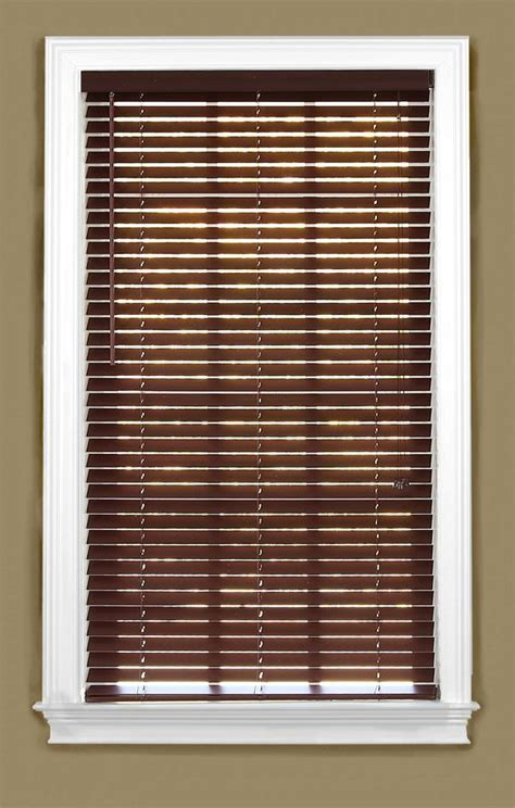 2 Inch Faux Wood Blinds Lowes 2 Inch Pvc Faux Wood Custom Blinds