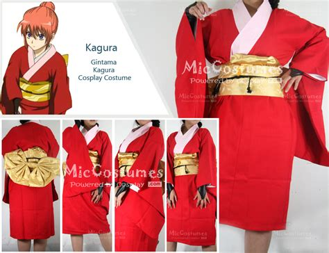 theme line gintama gintama kagura cosplay kimono for sale at miccostumes com