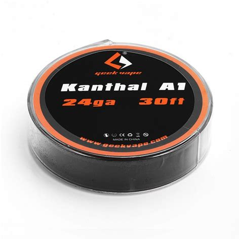 Vape Kanthal A1 24ga 30 authentic geekvape kanthal a1 24ga 0 5mm 10m heating resistance wire