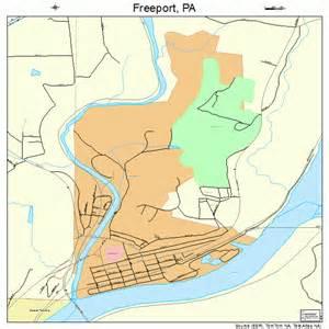 freeport map freeport pennsylvania map 4227784