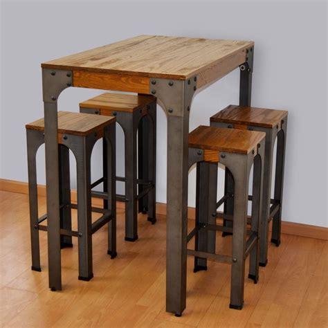 mesa alta con taburetes m 225 s de 17 ideas fant 225 sticas sobre sillas altas en