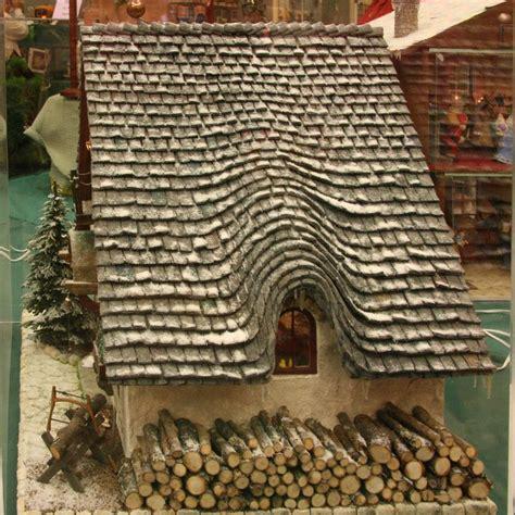 gingerbread roof christmas pinterest