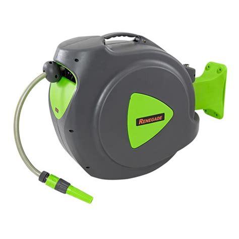 rwh20r renegade 20m water hose reel auto retracting hose