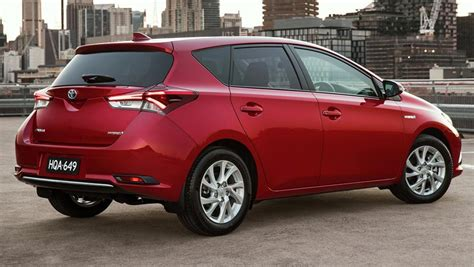 Toyota Corola 2016 Toyota Corolla Hybrid Review Drive Carsguide