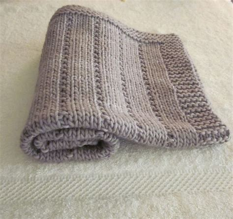 knitted baby comforter pattern breavley diamond ravelry stockinette and patterns