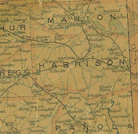 harrison county texas map harrison county texas 1907 postal map the american conservative