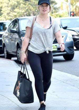 Promo 420 Black Spandex hilary duff in black spandex out in beverly