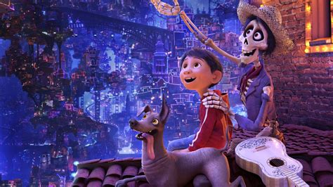 film disney version x wallpaper coco miguel dante hector pixar animation