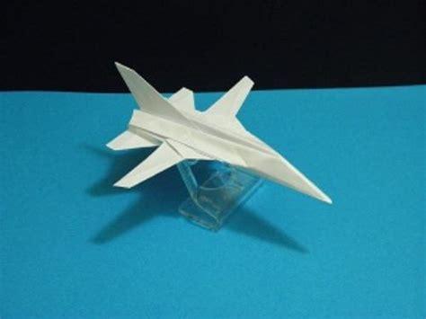 Origami Vedio - origami panavia tornado tutorial crafting paper