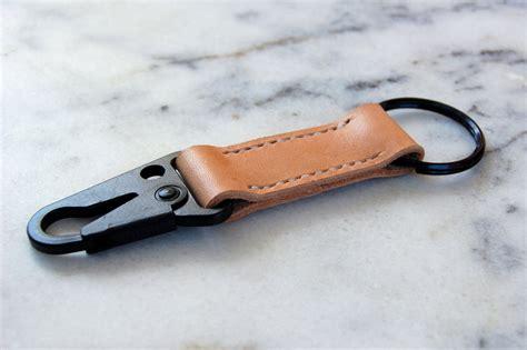 Leather Keyring personalized leather keychain custom handmade