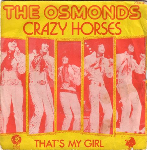 The Osmonds Horses Dvd the osmonds horses vinyl at discogs