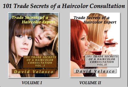 secets of the trade books consultation book offer trade secrets of a haircolor expert