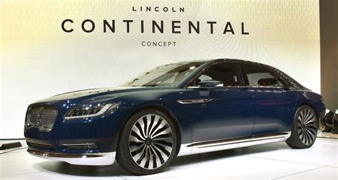 new lincoln continental pics should lincoln switch to real names for its vehicles