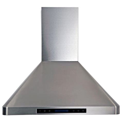 home depot hood fans cavaliere 30 in range hood in stainless steel ap238 ps29