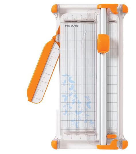 Craft Paper Trimmer - fiskars 12 inch portable rotary paper trimmer