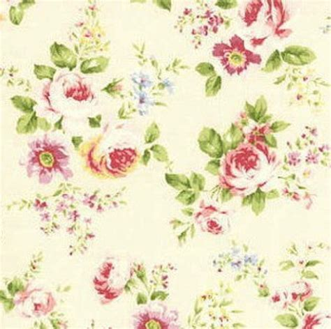 cottage shabby chic lecien rococo sweet med roses cream fabric 31053l 10 bty