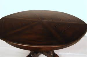 Expandable Round Dining Table by Large 64 To 84 Round To Round Country Expandable Jupe Table