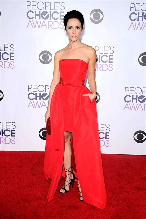 Choice Awards Strapless Trend by Abigail Spencer Strapless Carpet Dress Peoples Choice