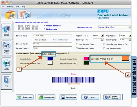 Software Barcode For Mac barcode maker software for mac os x screenshots bar code generator