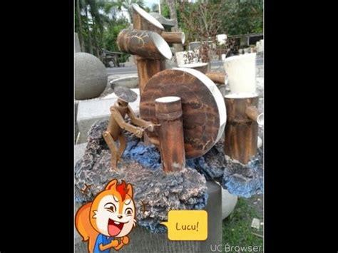 cara membuat kerajinan air mancur bambu full download cara membuat air mancur bambu mirip asli