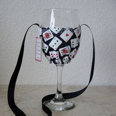 pattern for wine glass holder necklace ravelry wine glass holder pattern by claudia olson knit