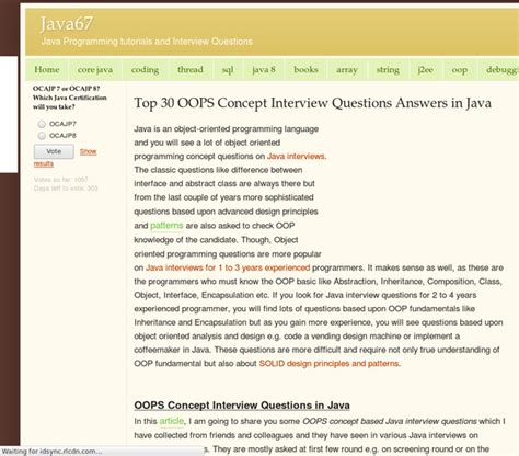 linux tutorial questions top 30 oops concept interview questions answers in java