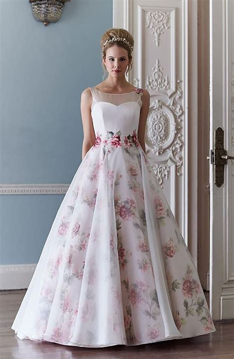 Flower Dresses For Weddings fantastic floral wedding dresses chwv