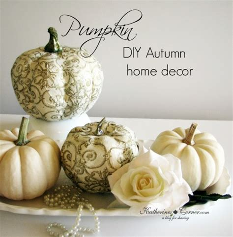 pumpkin home decor primp your pumpkin home decor katherines corner
