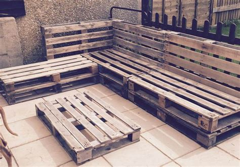 Pallet Floor L by Outdoor Pallet Sectional Sofa