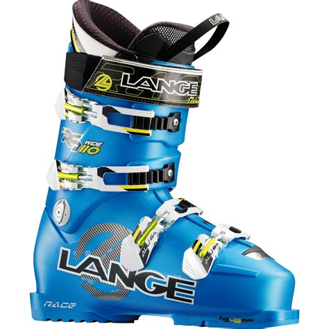 ski boots for wide lange rs 110 wide ski boots 2013 evo outlet