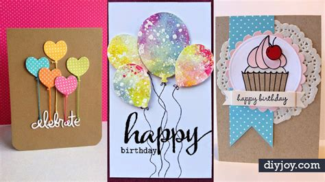 Creative Ideas For Handmade Birthday Cards - 30 creative ideas for handmade birthday cards