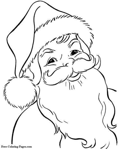 60 Coloring Page by Print Sheets And Pictures Santa 60