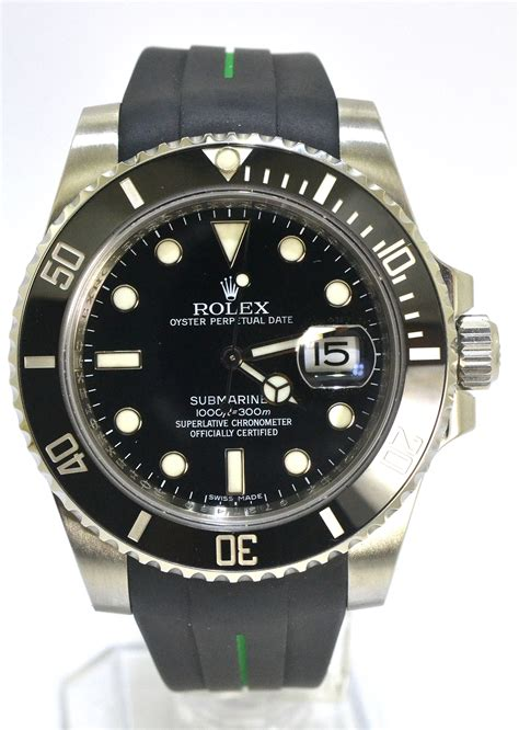 Rubber B For Rolex Submariner rolex submariner 116610ln rubber b wing wah