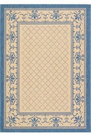 traditional blue beige area rug country cottage