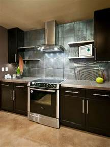ideas for kitchen backsplashes do it yourself diy kitchen backsplash ideas hgtv