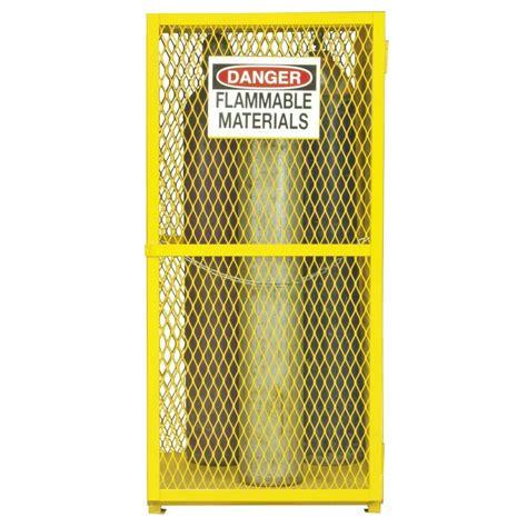 Durham EGCVC9 50   Vertical 9 Cylinder Gas Steel Storage