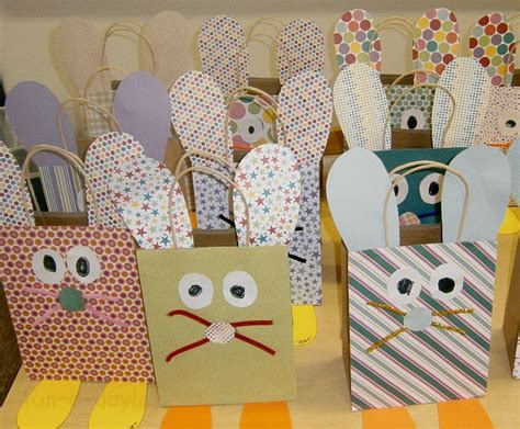 adorable easter bags the can help make these would