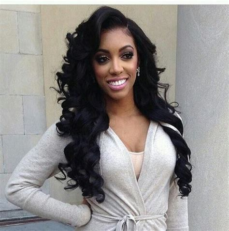 black formal cold wave hairstyle pictures 520 best body wave hairstyle images on pinterest body