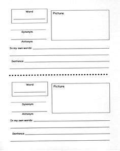 marzano 6 step vocabulary template free vocabulary flip book for marzano s six steps keep