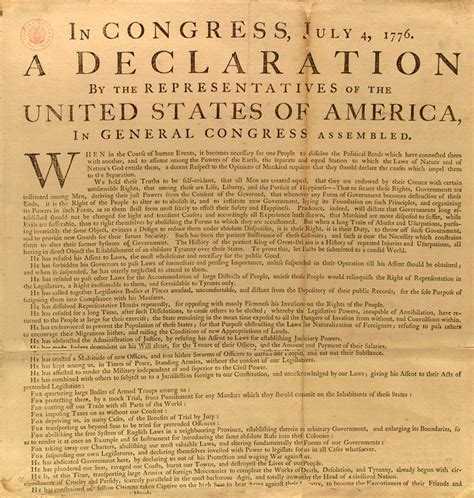 5 sections of the declaration of independence ch 6 the declaration of independence skyridge lass with