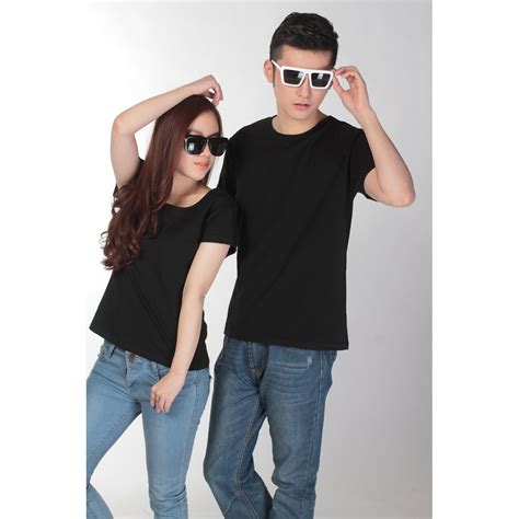 Kaos Murah Tshirt Wanita Motif You Black kaos polos katun wanita u neck size s 81301 t shirt black jakartanotebook