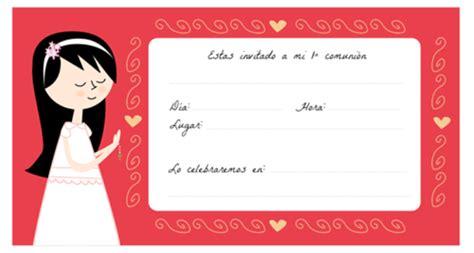 4 tipos de invitaciones para tu comuni 243 n marla comuniones como redactar una invitacion de primera comunion como redactar una invitacion de primera