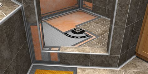 bathroom membrane system schluter systems rainwood interiors lincoln ne