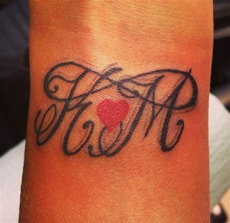infinity tattoo designs with initials our initials infinity tattoo tattoos pinterest