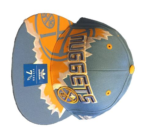 denver nuggets colors denver nuggets adidas fitted cap color team scotteez