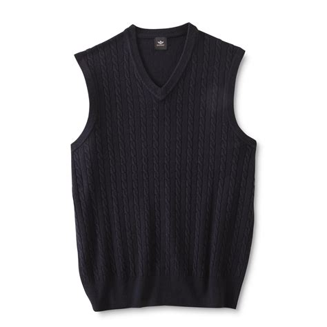mens cable knit sweater vest dockers s cable knit sweater vest