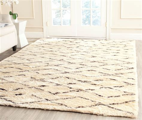 brown and white rugs safavieh casablanca csb847a white brown area rug