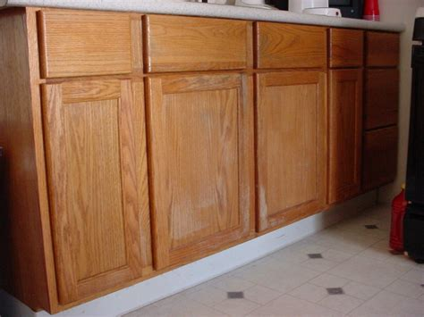 How To Stain A Kitchen Cabinet How To Stain Wood Cabinets In Kitchen