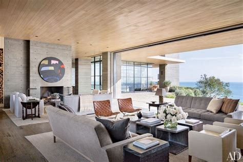 living room los angeles real estate maven kurt rappaport s striking malibu home