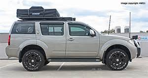 Nissan Pathfinder Lifted Tough Suspension For R51 Nissan Pathfinder 4wd1